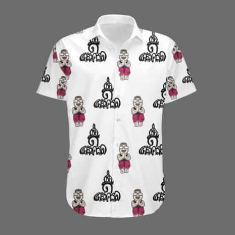Good Luck mock up Dress Shirt